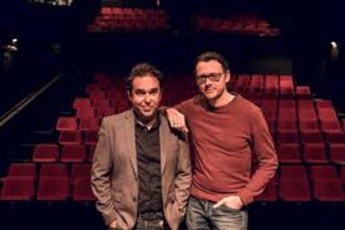 Gunther Reniers (links) en Yves Caspar (rechts) van De Roxy zijn helemaal klaar voor het nieuwe theaterseizoen.