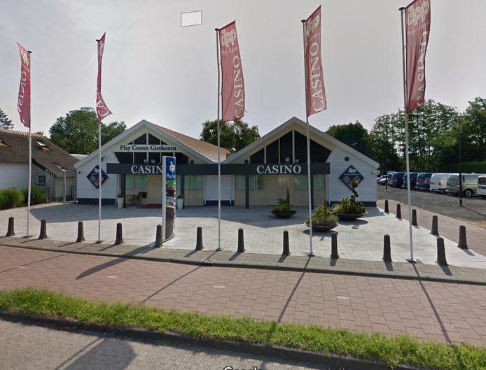 Het casino aan de Beulakerweg in Giethoorn.