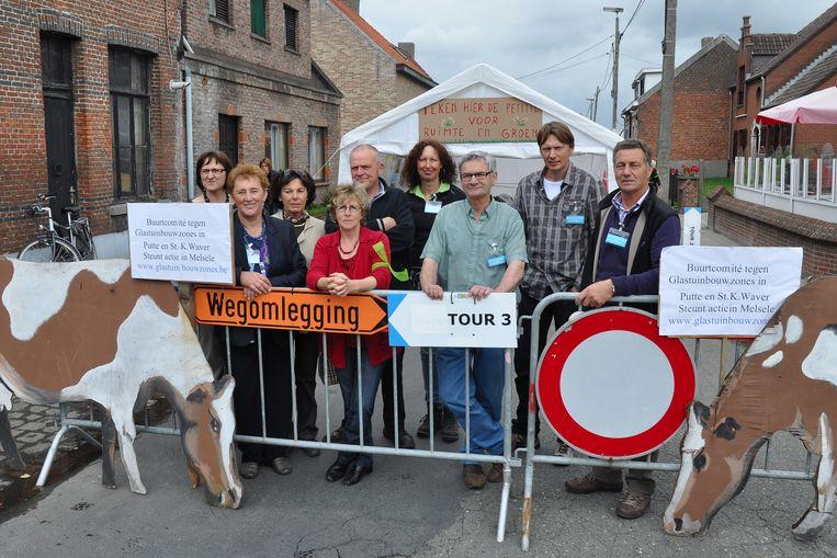 Het actiecomité tegen de glastuinbouwzone reageert tevreden op de beslissing