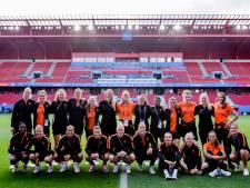 Alle remmen los voor de Leeuwinnen in oranje gekleurd Valenciennes