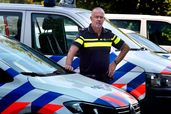 Teamchef politieregio Dongemond Jaap Naaktgeboren.