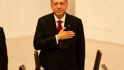Erdogan legt eed af als Turks president: behalve staatshoofd is hij nu ook regeringsleider