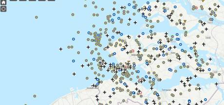 Verhalen neergestorte oorlogsvliegers komen met een klik op de kaart tevoorschijn
