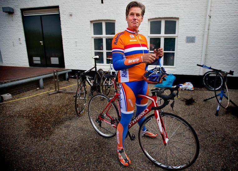 Leo van Vliet, koersdirecteur van de Amstel Gold Race. Beeld ANP