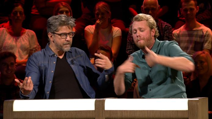Wim Helsen en Rik Verheye