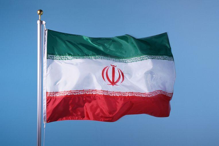 De Iraanse vlag. Beeld Thinkstock