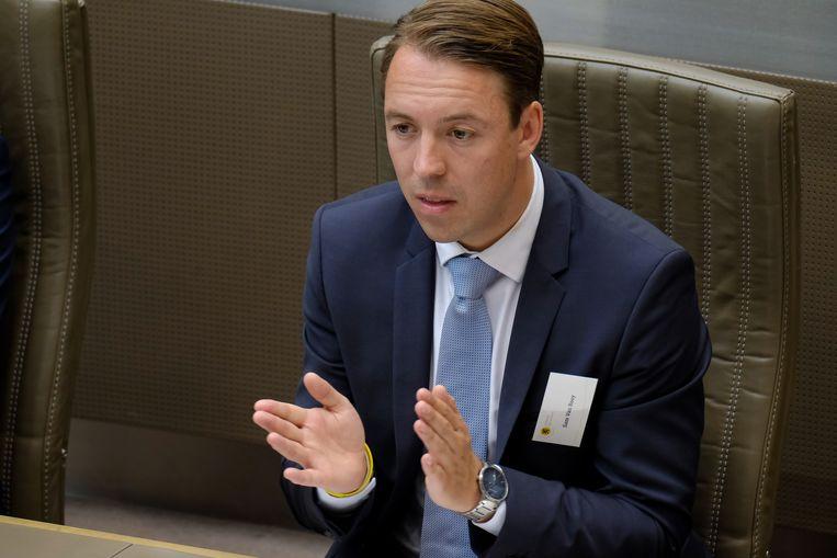 VB-gemeenteraadslid Sam Van Rooy. Beeld BELGA