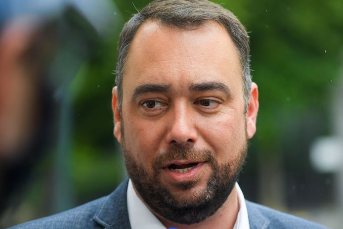 CdH-voorzitter Maxime Prévot.