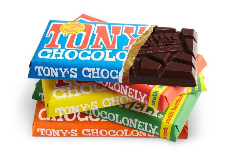 Repen van Tony's Chocolonely. Beeld -