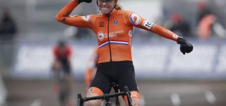 Fem van Empel heeft goud in de benen en krijgt complimenten van Marianne Vos: 'Ze heeft enorm veel potentie'