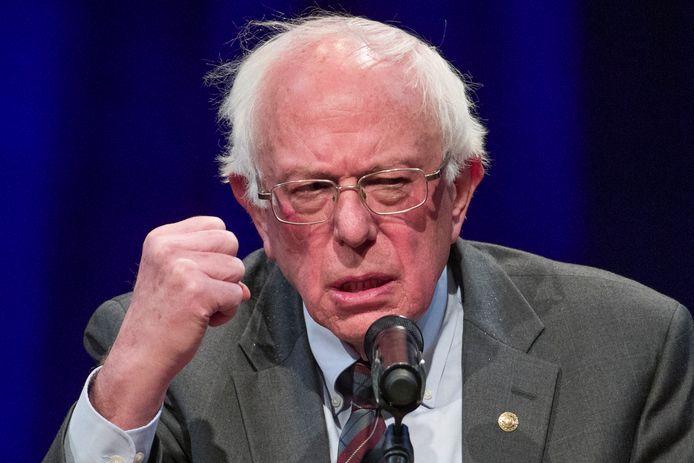 Bernie Sanders op archiefbeeld van eind vorig jaar