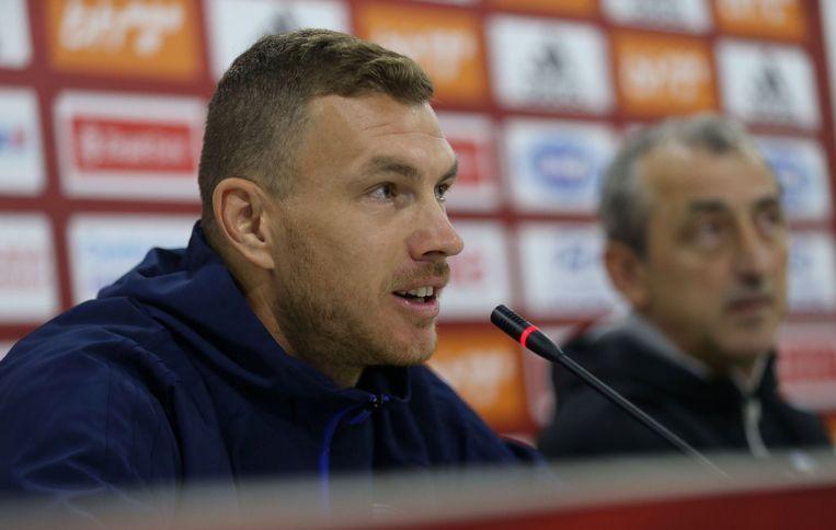 Scoort Edin Dzeko zaterdag opnieuw tegen België?