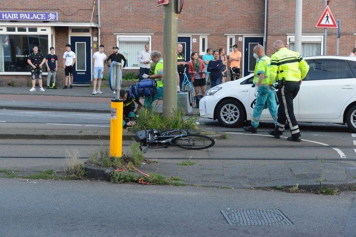 Het ongeluk gebeurde bij de Hildebrandstraat.