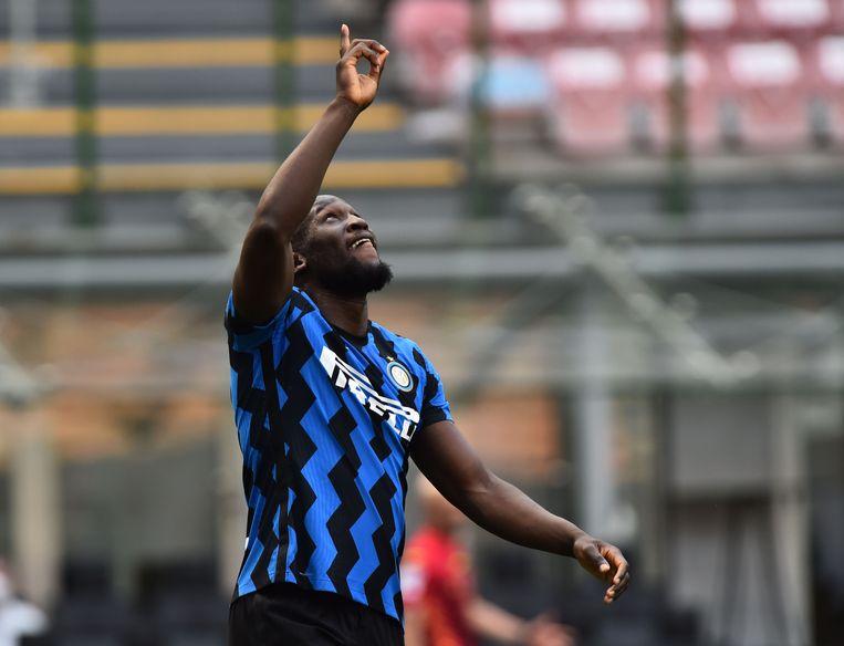 Romelu Lukaku: blijft hij bij Inter? Beeld REUTERS