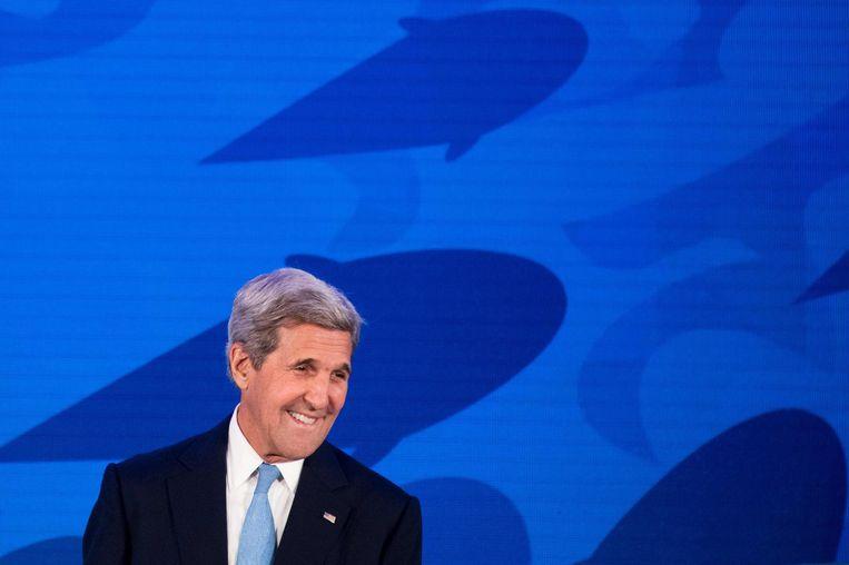 John Kerry. Beeld afp