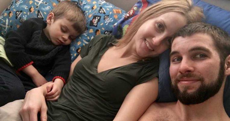 Lauren, Jon en Ryder.