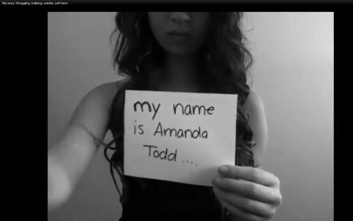 Amanda Todd pleegde zelfmoord na internetpesterijen