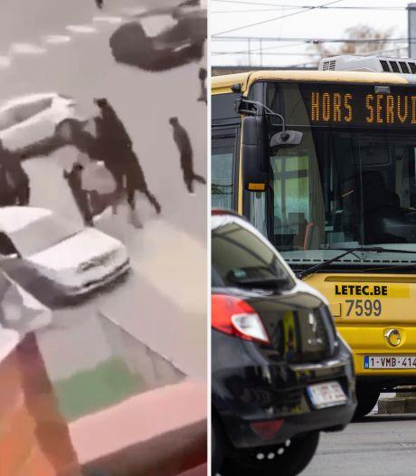 Plusieurs bus ne circulent plus à Bressoux suite aux affrontements mortels de vendredi