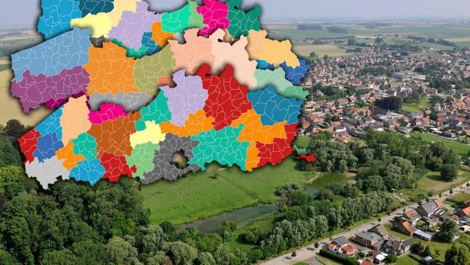Versnipperd Vlaanderen: in deze gigantische puzzel van regio's, zones en intercommunales bevindt uw gemeente zich