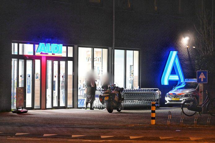 Overval op de Aldi in Breda.