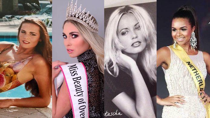 Ex-missen Elles, Selena, Natascha en Francis doen hun verhaal.