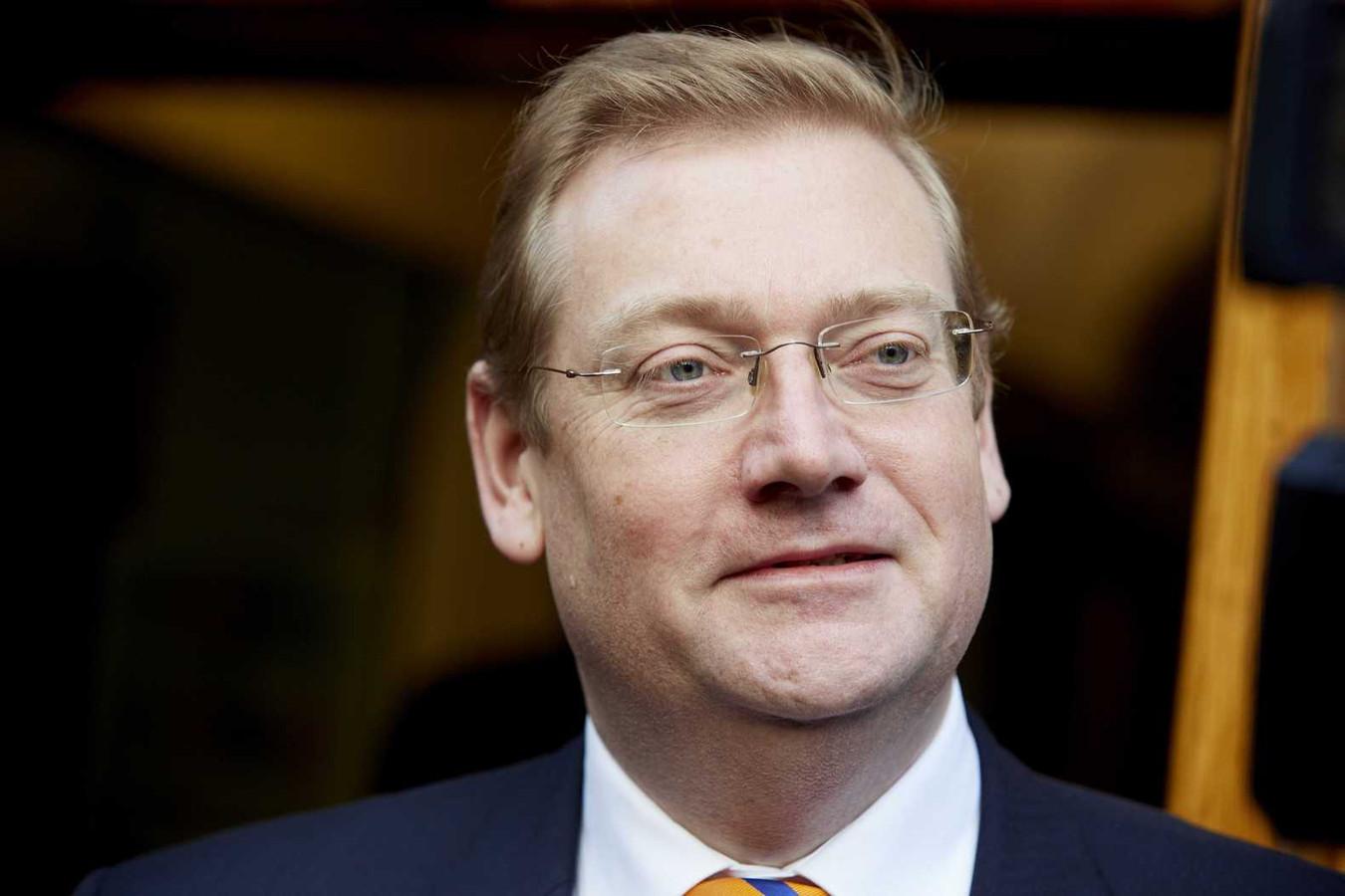 Minister Ard van der Steur (Veiligheid en Justitie).