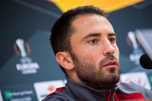 Standard-verdediger Milos Kosanovic.