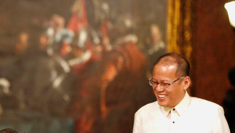 De Fillippijnse president Benigno Aquino.