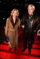 Een zeldzame foto van Leah en haar man Jos, uit 2009.