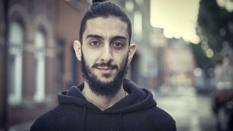 Hamza uit 'Vijf jaar hier'. Beeld VRT