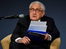 Oud-minister Henry Kissinger: spanningen VS-China zijn grootste probleem voor de hele wereld