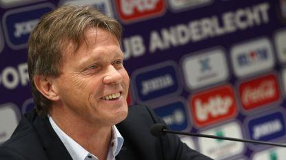 """Anderlecht stelt Vercauteren voor: """"Er is één coach die beslist. Wie dat is, dat is nu duidelijk"""""""