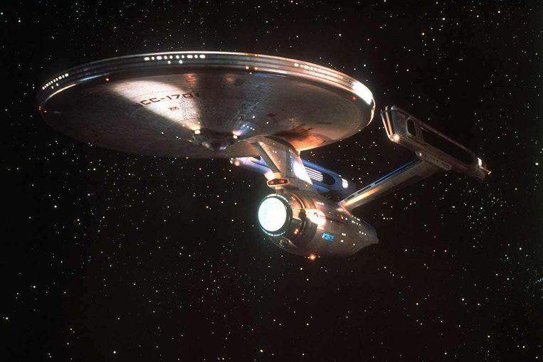 De warpdrive uit Star Trek.  Beeld