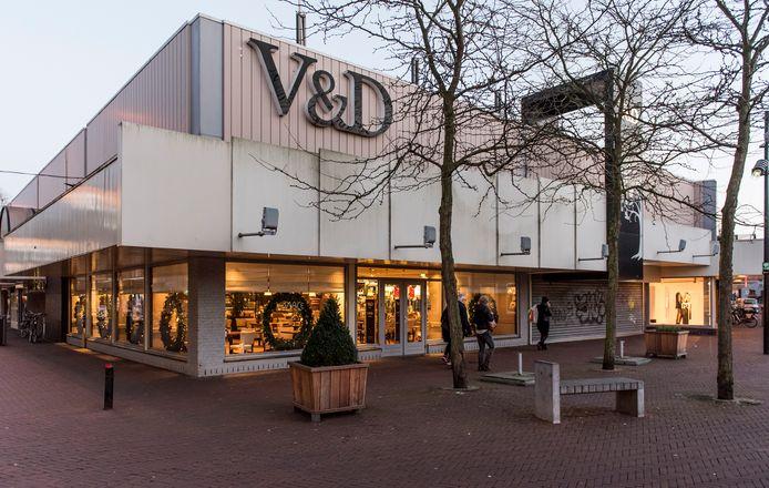De oude V&D in Oss wijkt voor nieuwbouw met centrumplan Wal Kwartier