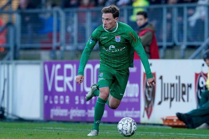 Rico Strieder (27) maakt definitief de overstap van FC Utrecht naar PEC Zwolle. De middenvelder, die het voorbije half jaar al werd gehuurd, tekent voor twee seizoenen.
