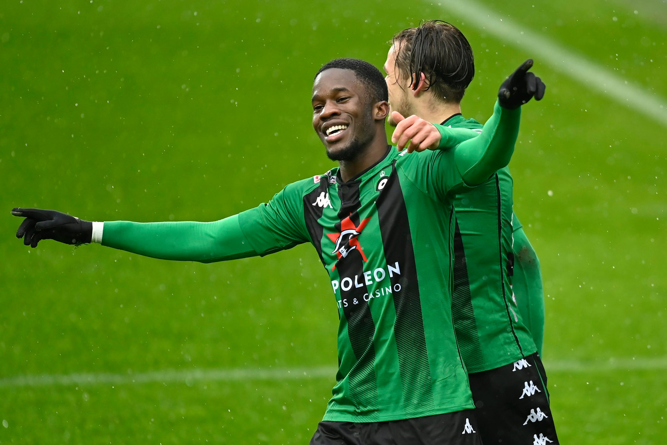 Ike Ugbo is de doelpuntenmachine van Cercle.