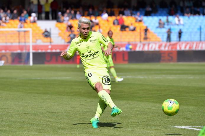 Cristian Battocchio, de Italiaanse spelverdeler van Stade Brest.