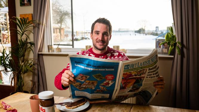 """Ontbijten met HLN-lezer Pieter Fasseur (29): """"Ik ben een zondagskind. Ik werk hard maar ben waanzinnig gelukkig"""""""