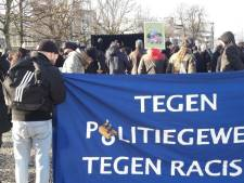 Zo'n 150 mensen bij demonstratie tegen politiegeweld