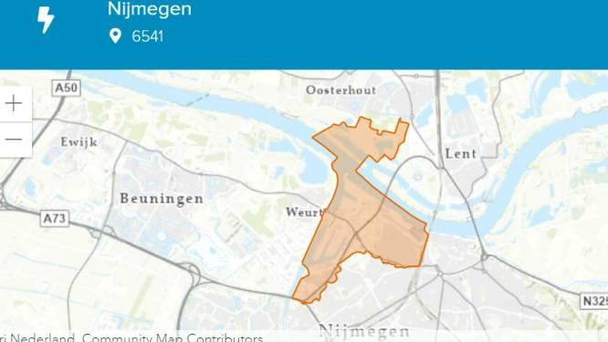 Grote stroomstoring treft Nijmegen; honderden huishoudens en bedrijven even zonder elektriciteit