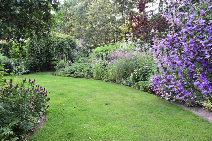 Een van de deelnemende tuinen voor het alternatieve opentuinweekend.