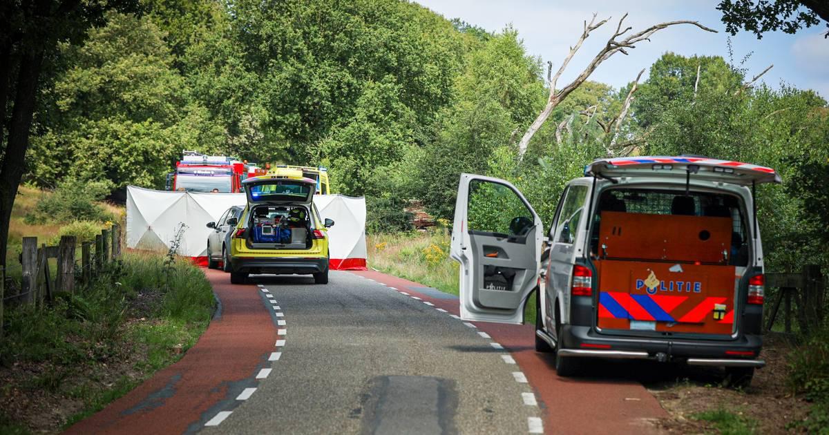 Fietser gereanimeerd na eenzijdig ongeval op Posbank.