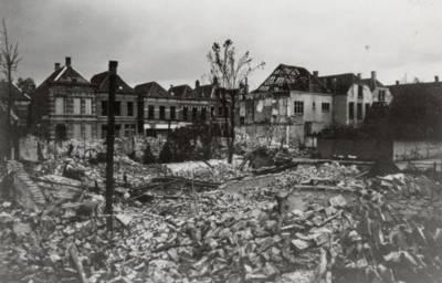 Mei 1940, bommen op Breda: 'Het puin was gloeiend heet'