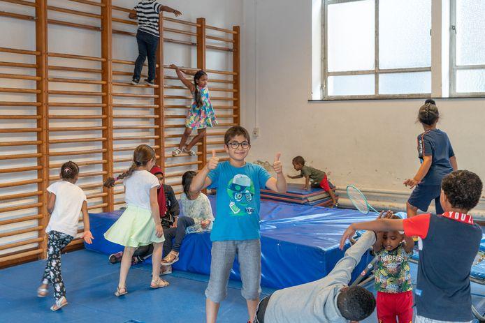 Zowel kinderen, jongeren als hun ouderrs waren ook dit jaar welkom op de zesde editie van de 'Zomerbabbels' van Sint-TruideN;