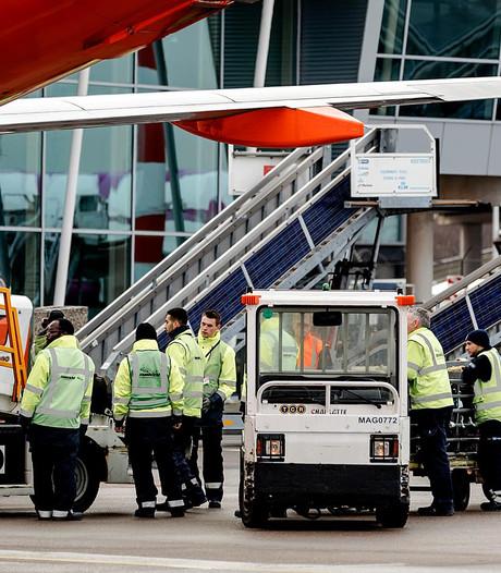 Werkonderbreking bij vrachtbedrijf Schiphol