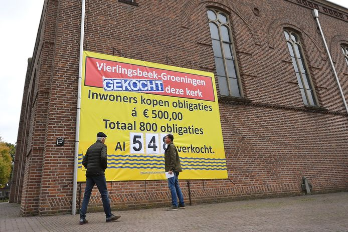 De kerk in Vierlingsbeek.