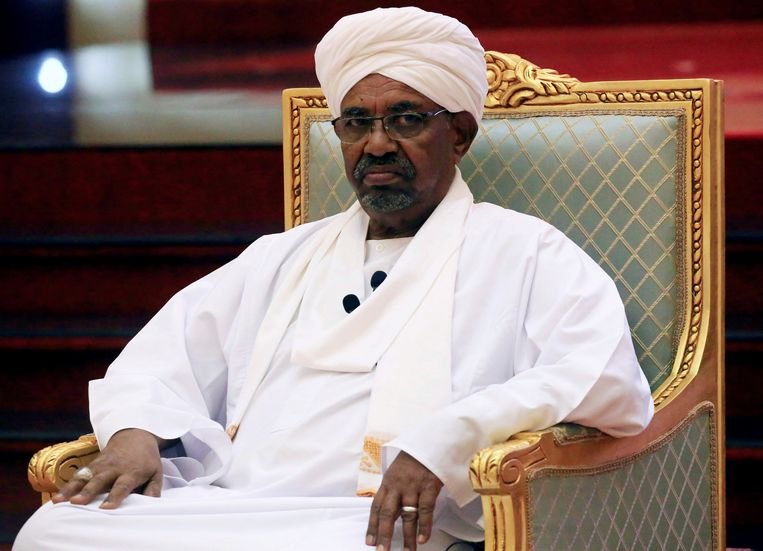 De intussen afgezette Soedanese president Omar al-Bashir