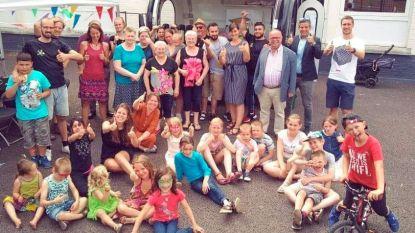 Gezellig buurtfeest sluit eerste buurtsportweek in Oudenaarde af