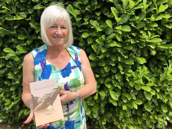 Hilde Beets (63) presenteert haar eerste boek 'Drie generaties en ik'.