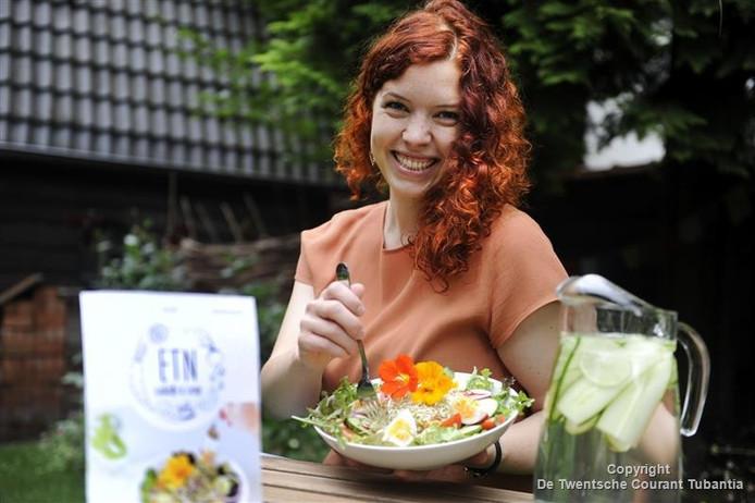 Lotta Imeyer wil met behulp van crowdfunding een saladebar in Enschede beginnen